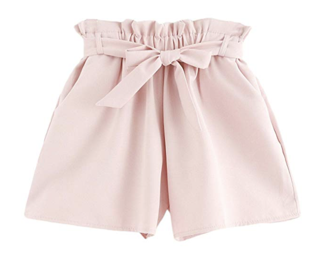 Amazon shopping ideas | Amazon sale | Amazon spring fashion | spring clothing | pink shorts | blush shorts