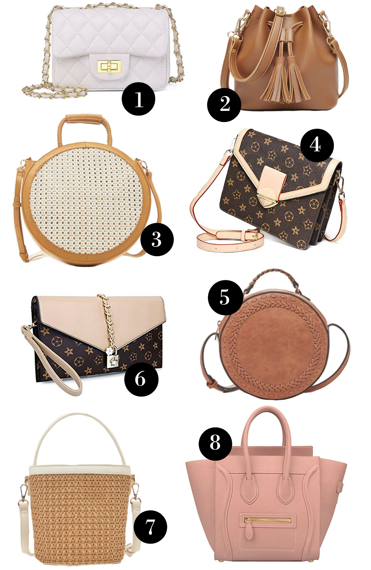 7891c76a67c 16 Designer Bag Dupes For Your Spring Wardrobe - Mash Elle