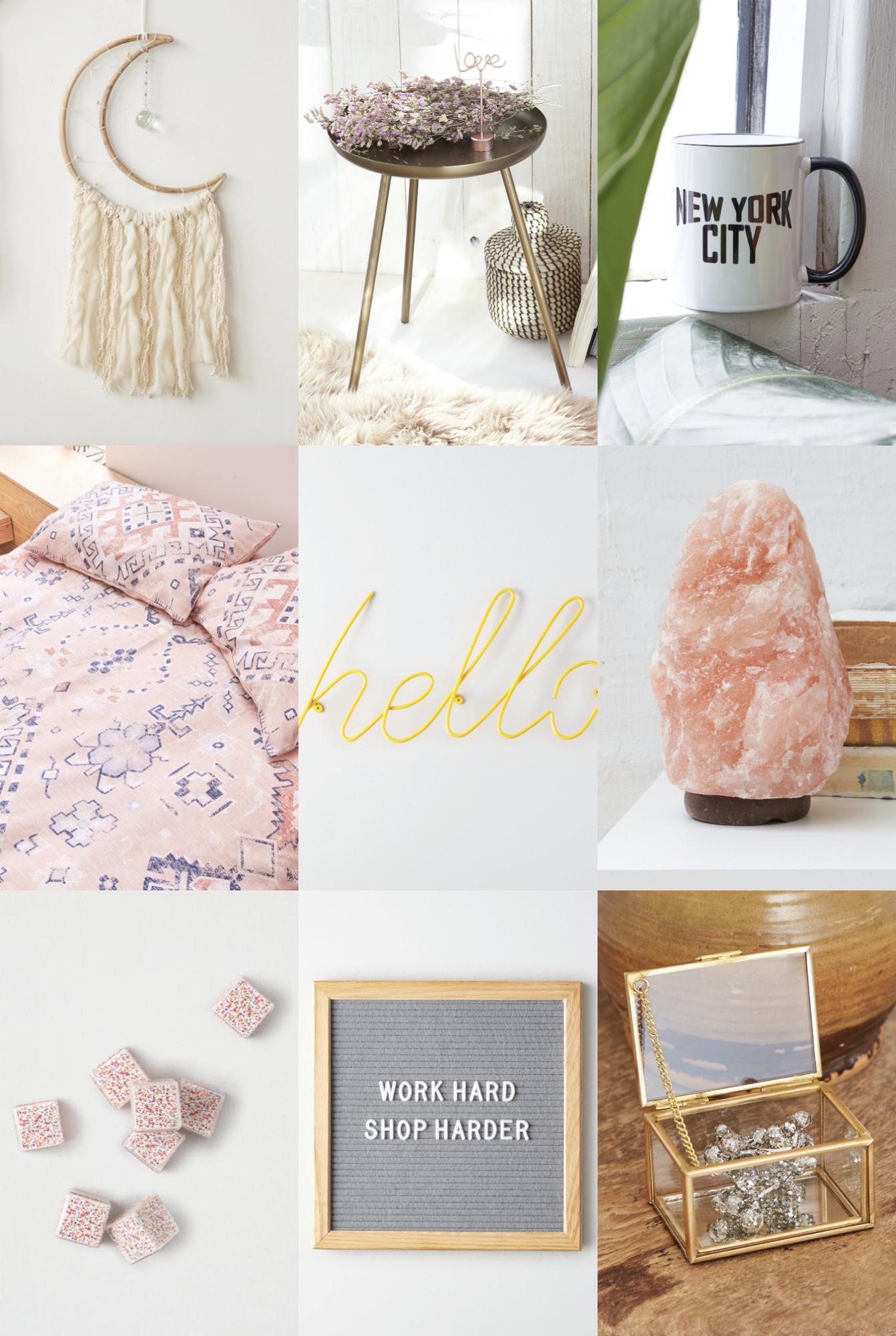 Mash Elle lifestyle blogger | home design | home decor | hello neon sign | room inspo | salt lamp