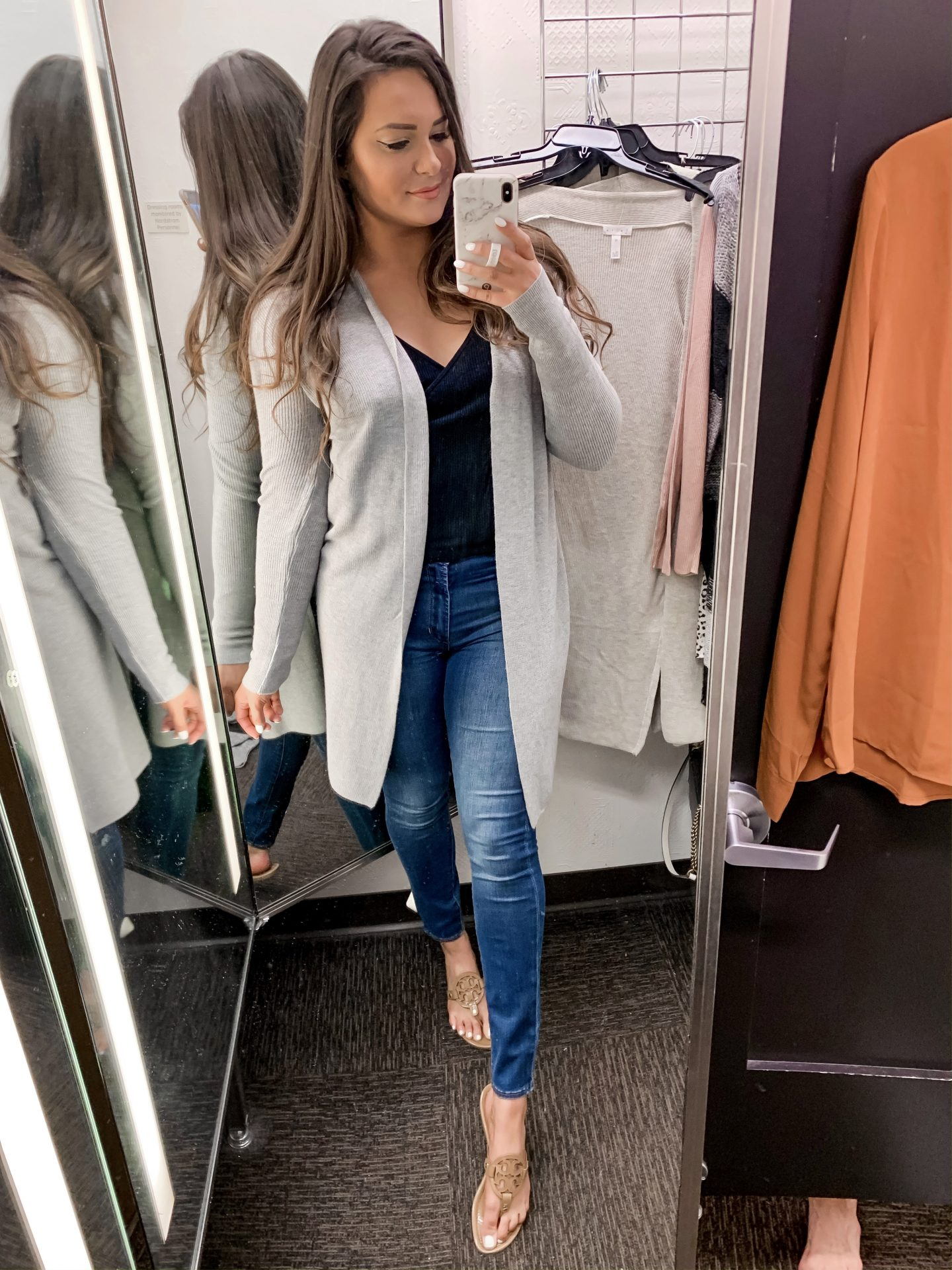 Mash Elle style fashion blogger | Nordstrom Sale | what to buy at Nordstrom | beige cardigan | work appropriate outfit