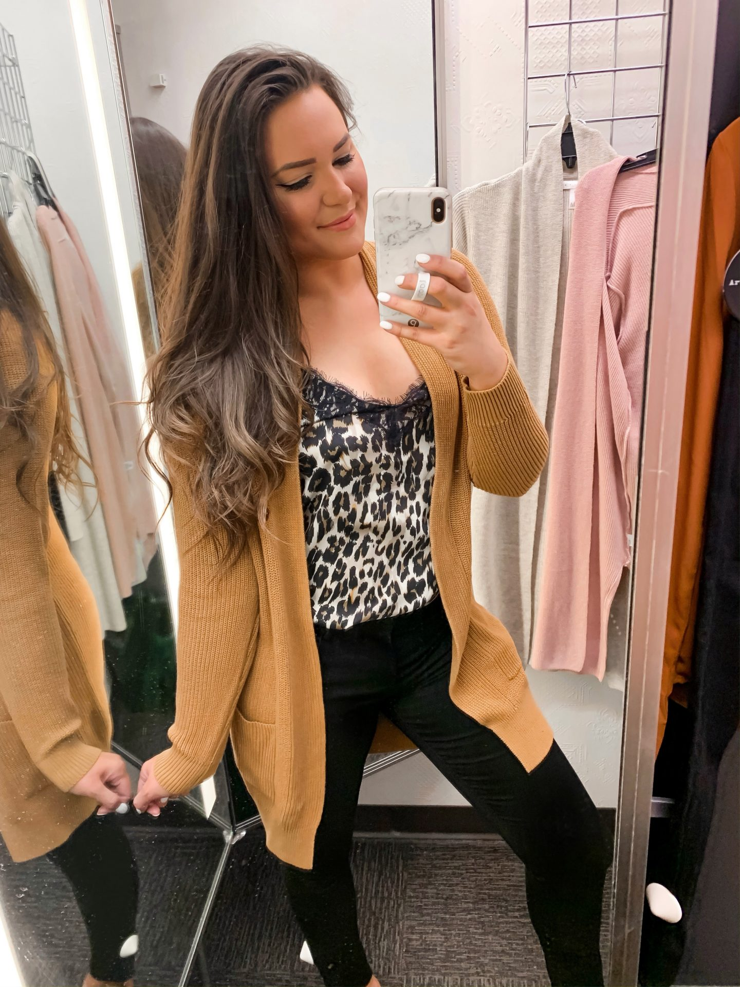Mash Elle style fashion blogger | Nordstrom Sale | what to buy at Nordstrom | yellow cardigan | leopard blouse