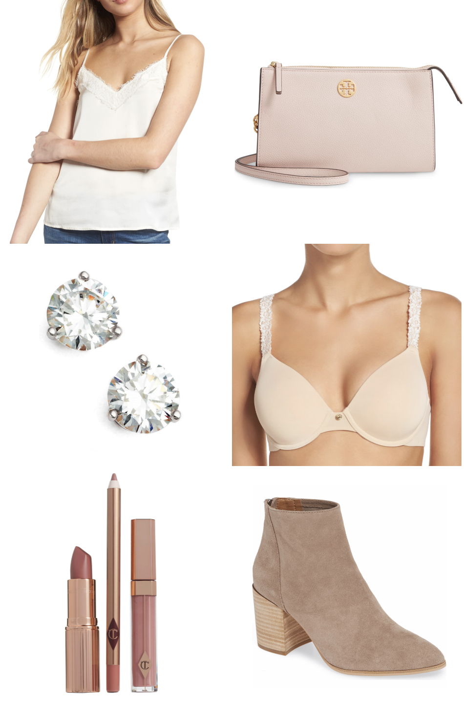 Mash Elle fashion style blogger | beauty blogger | Nordstrom sale | Nordstrom fashion | summer Style | tan bag | cami | diamonds