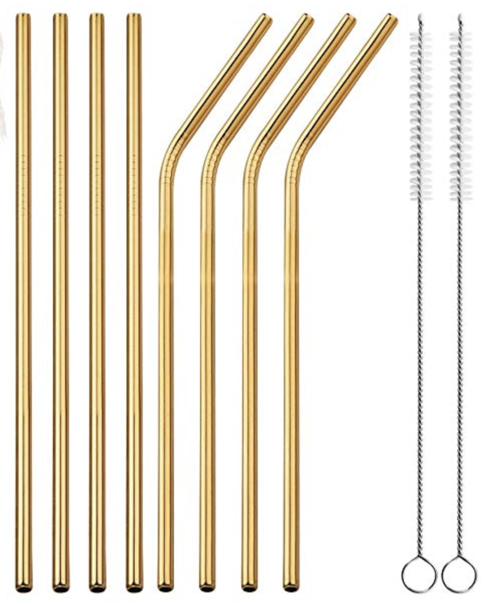 Amazon Prime Day 2 | Amazon Prime | Prime Day 2 | Amazon Fashion | Beauty blogger Mash Elle | gold reusable straws | earth friendly drinkware