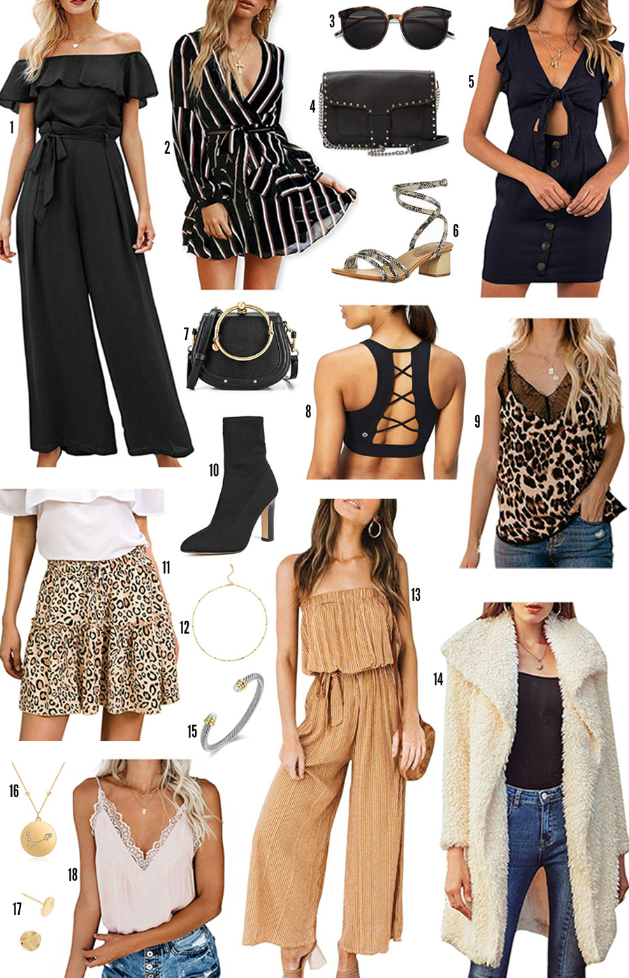 Amazon fall fashion | back to school | Amazon style | beauty blogger Mash Elle | what to wear in fall | jumpsuit | cheetah print