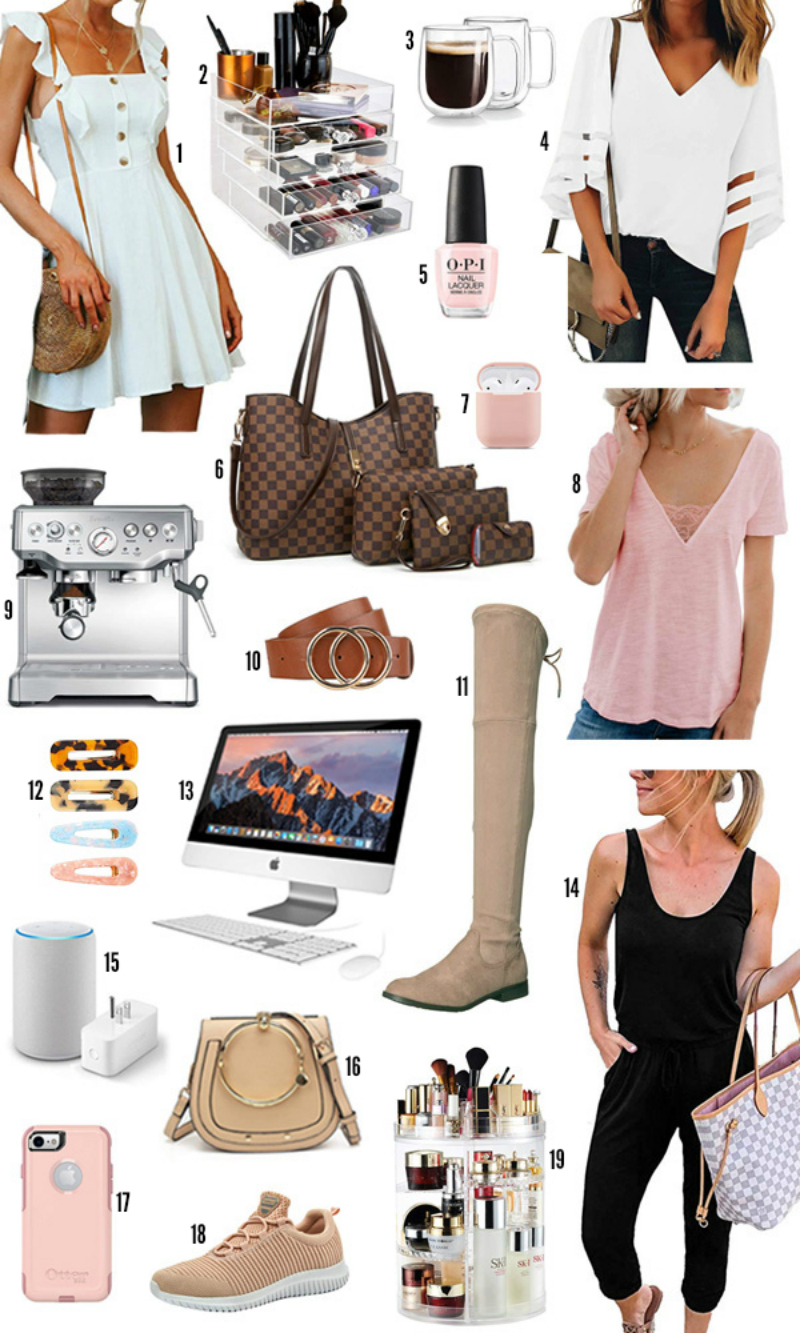 Amazon prime day | beauty blogger Mash Elle | style blogger Mash Elle | fashion | back to school ideas | pink blouse | otk boots