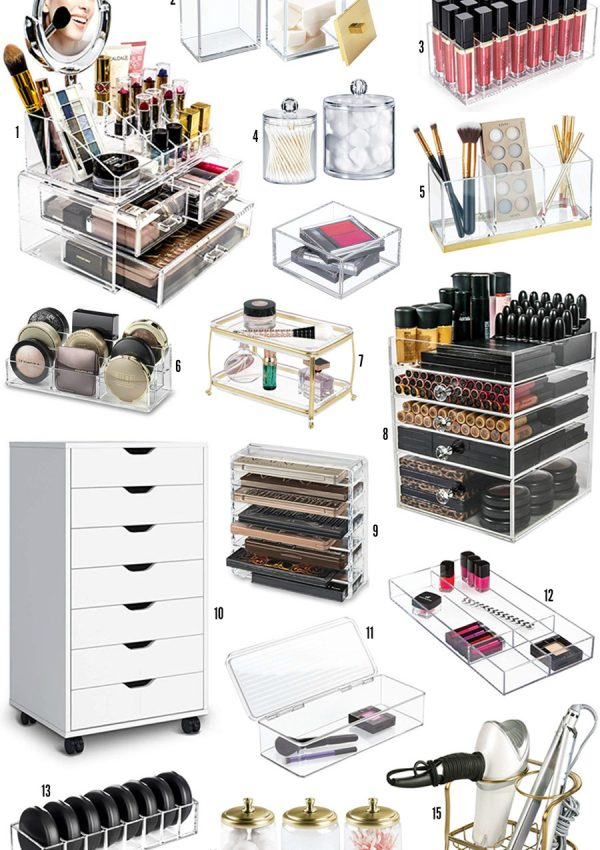 The Best Beauty Organizers On Amazon