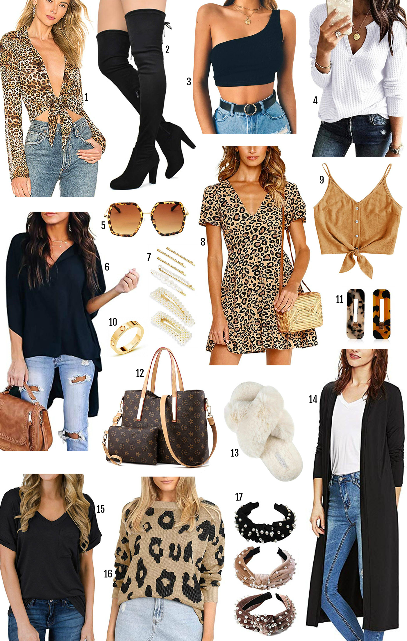 Amazon fall fashion | fall fashion | amazon fashion under 25 | style blogger Mash Elle | leopard print