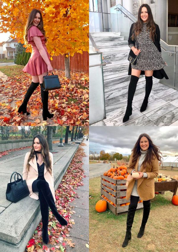 How To Style Over-The-Knee Boots For Fall