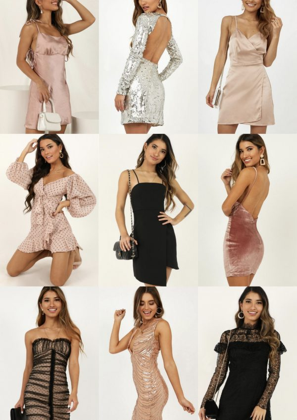 Affordable Party Dresses To Welcome The New Year