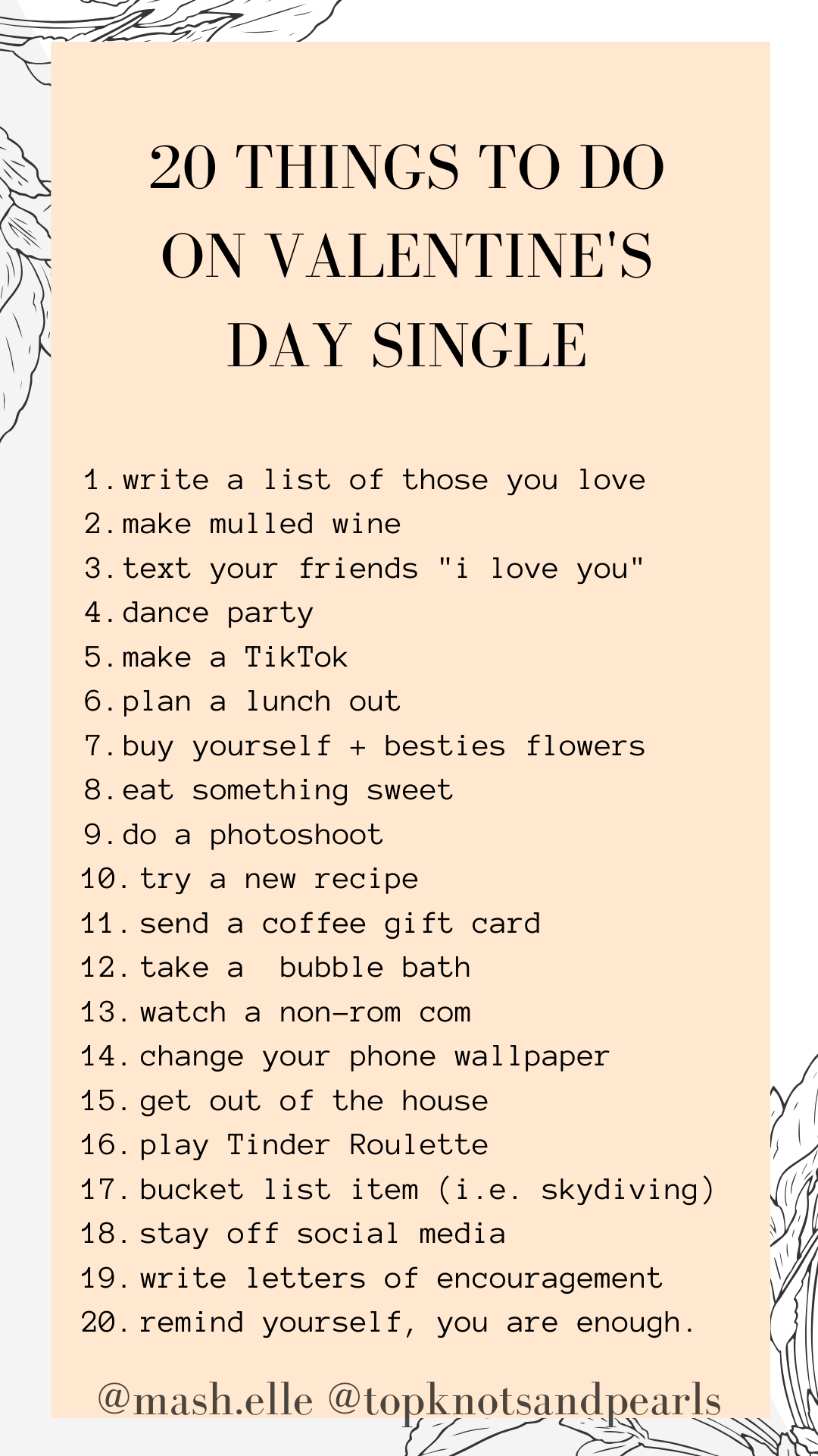 valentines day | single | dating | what to do on valentine's day as a single woman | single ladies | beauty blogger Mash Elle |