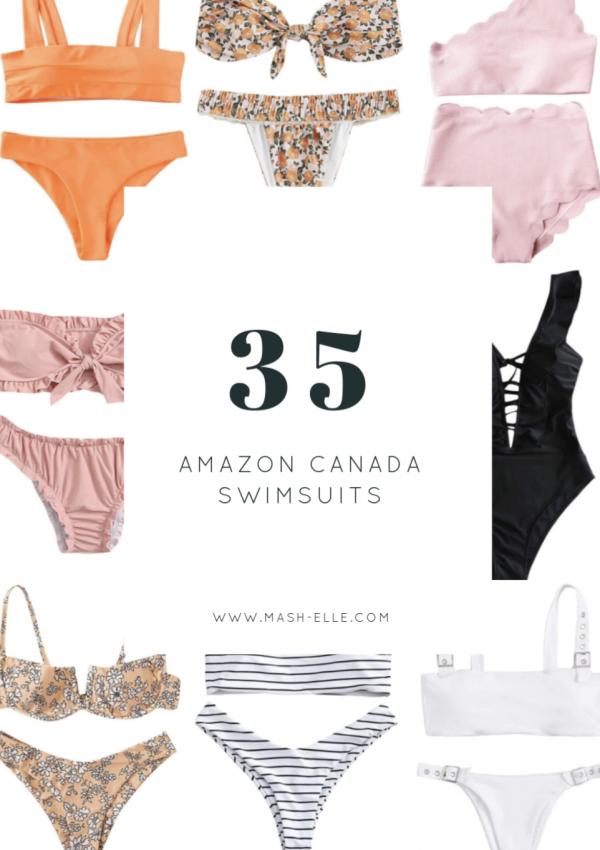 Amazon Canada Bathing Suits Under $25