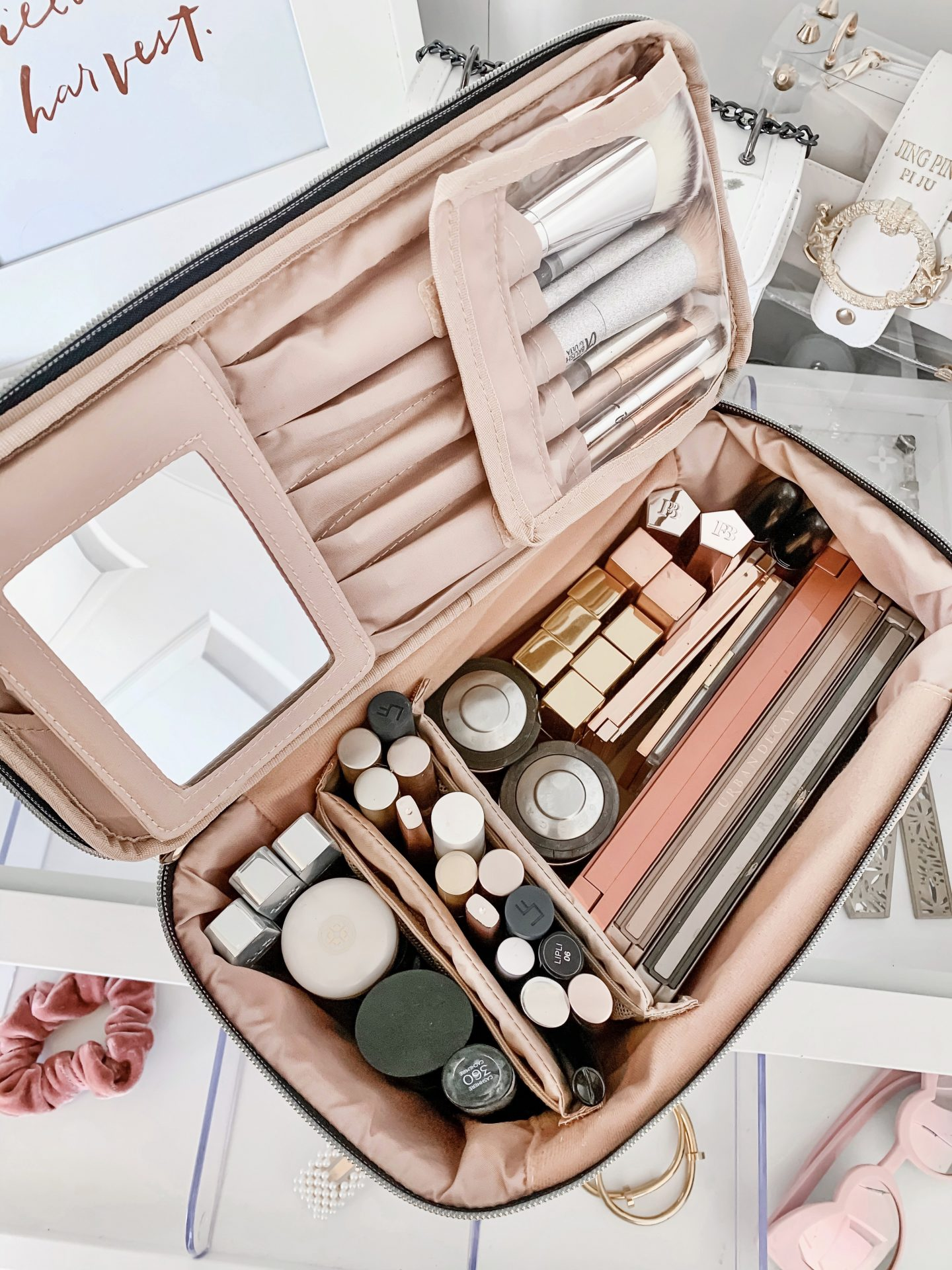 The Ultimate Travel Makeup Bag Under