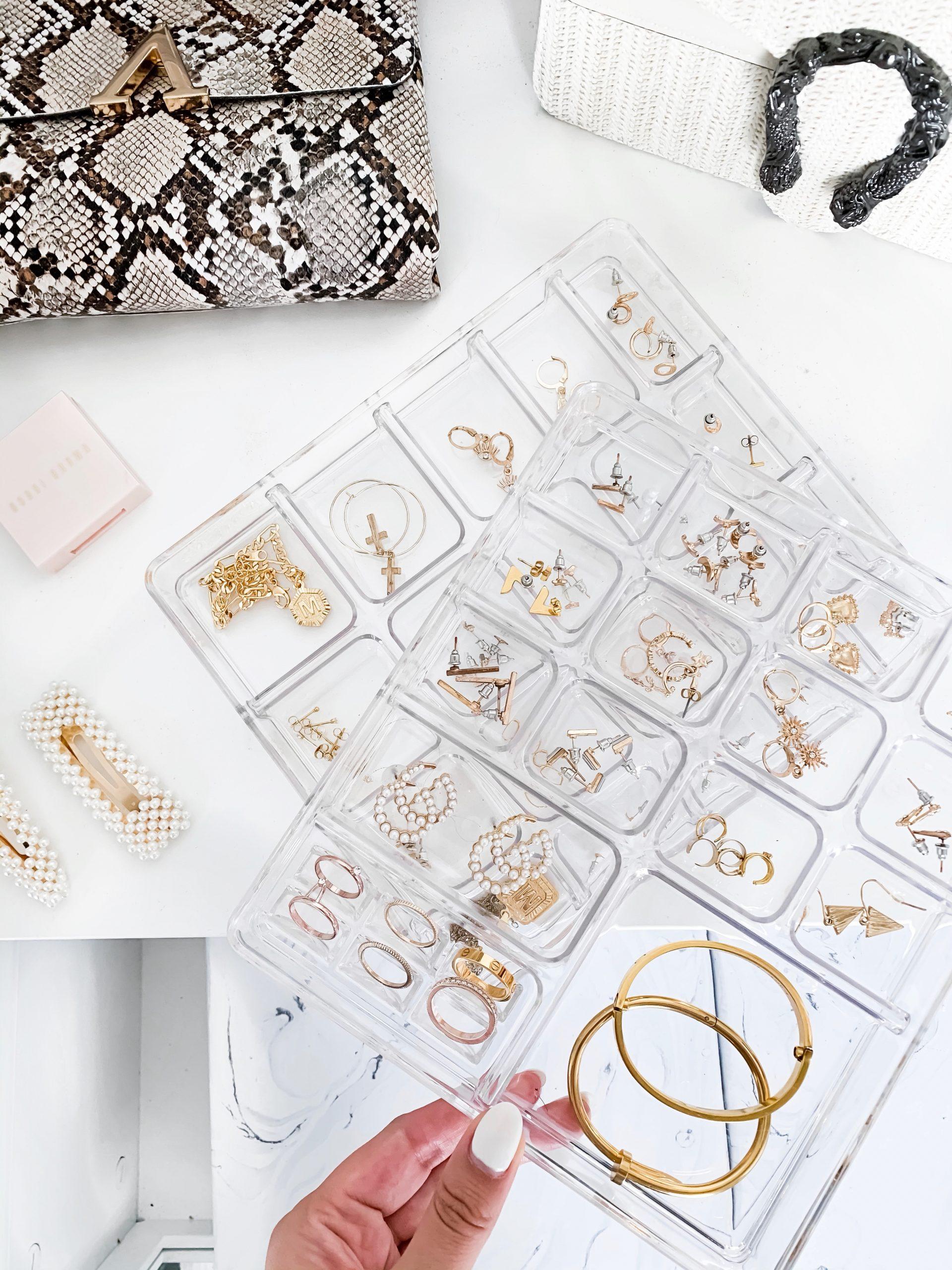 jewelry organization | storage organization | how to store jewelry | ring storage | cute jewelry organizer