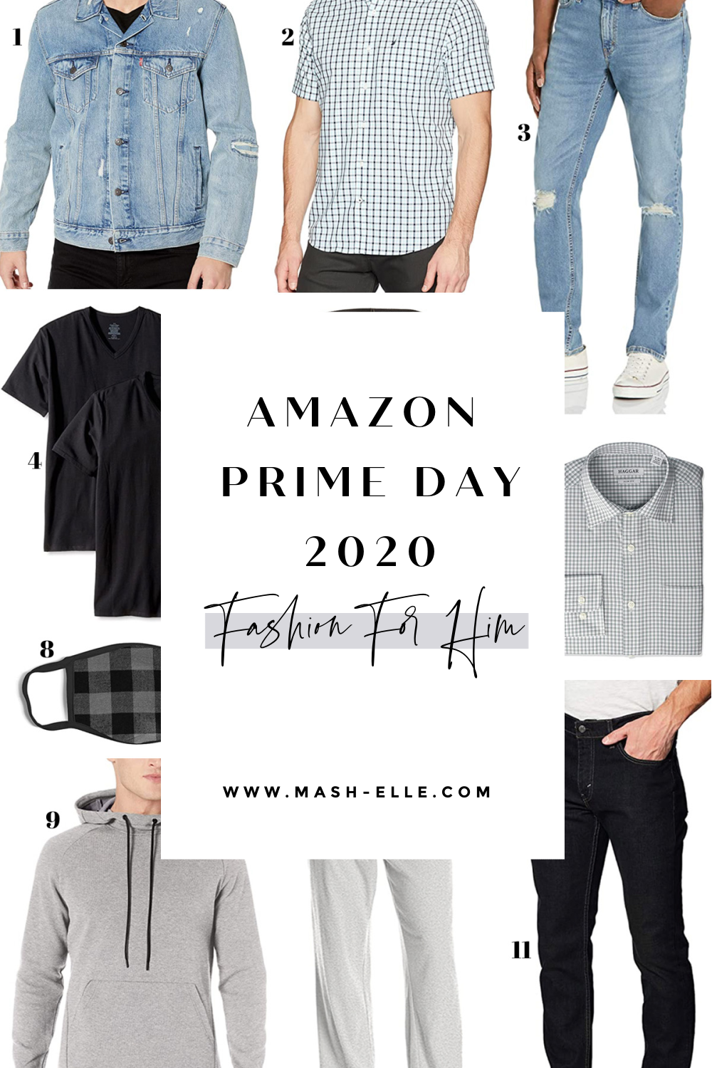 Amazon prime day mens fashion | mens clothing amazon prime day | prime day | mens jackets | mens masks | fashion blogger Mash Elle