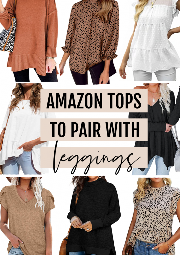 Amazon Tops To Pair With Leggings