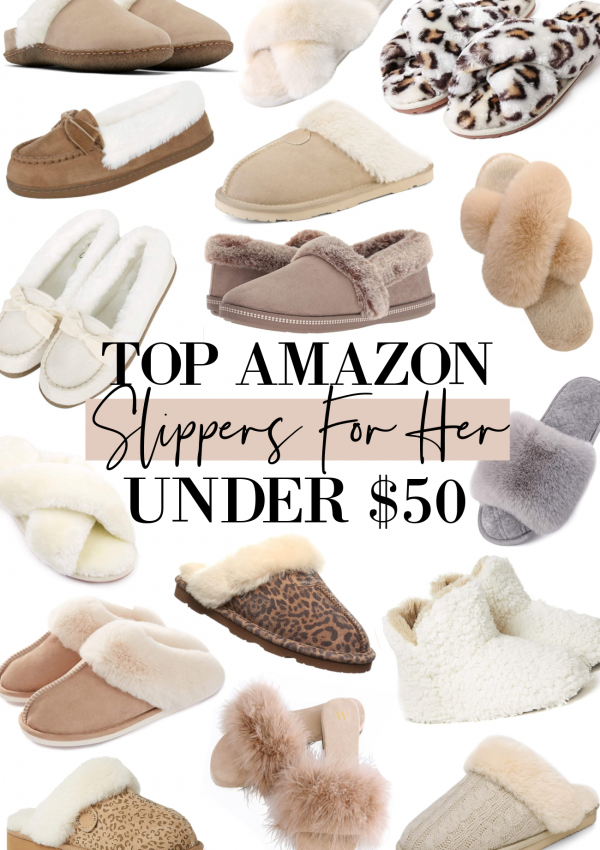 Slippers Under $50 (For The Whole Family!)